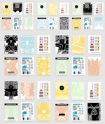 Icon brochure vector