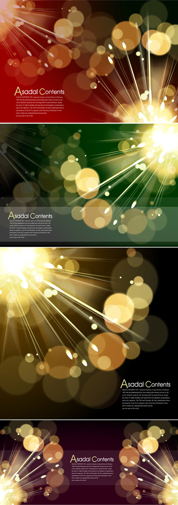 Particles of light background vector