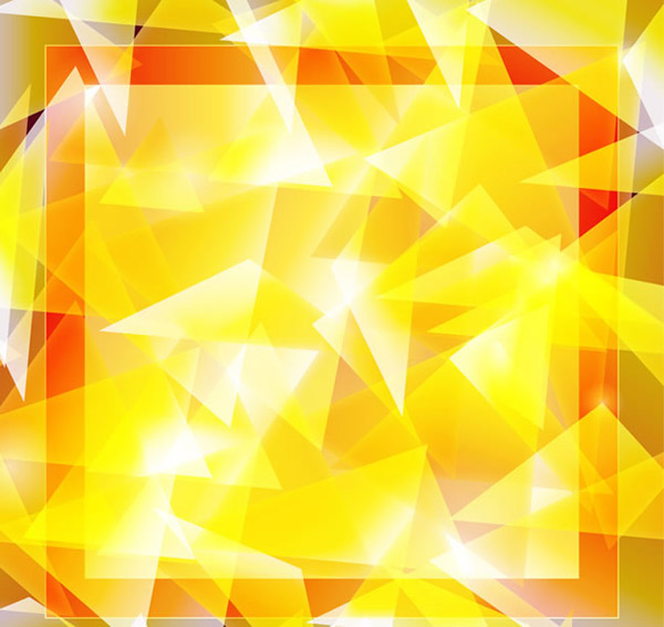 Triangle foldover background vector