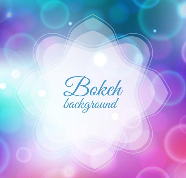 Dreamy Bokeh backgrounds vector