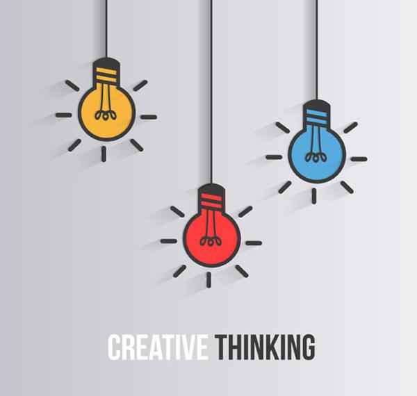Creative illustration vector