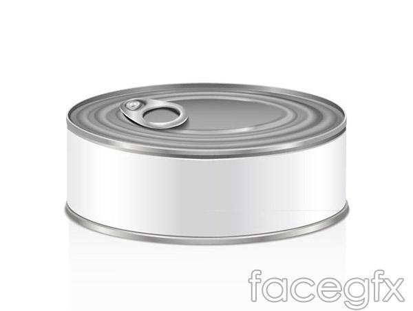 White Tin design vector