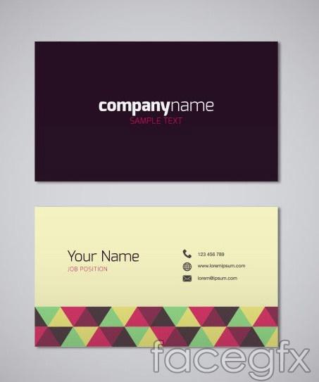 Air business card design vector