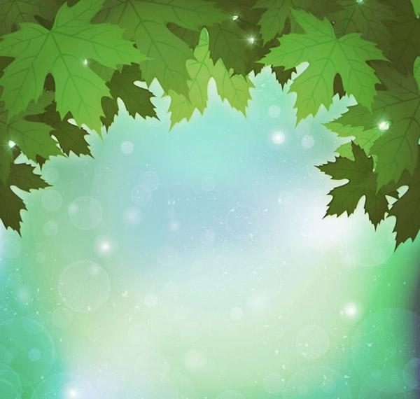 Background green Indus vector
