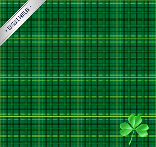 Green Plaid background vector