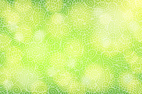 Patterned Halo background vector