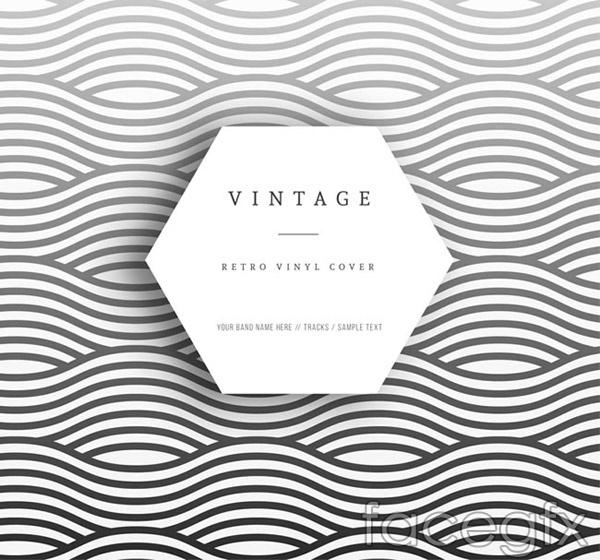 Vinyl cover vector