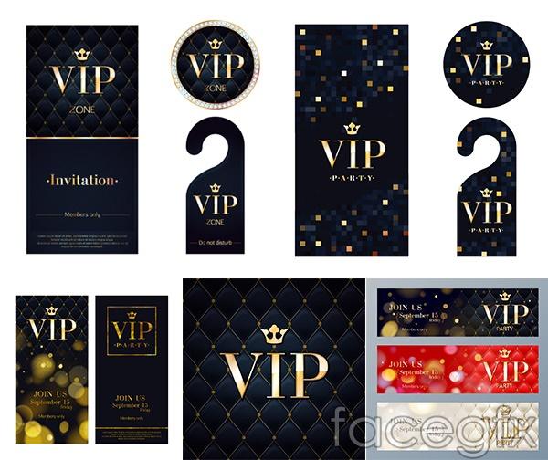 Upscale VIP element vector