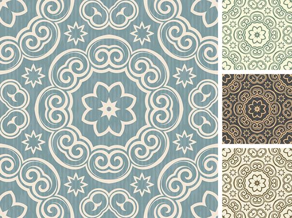 Stylish background wallpaper pattern vector