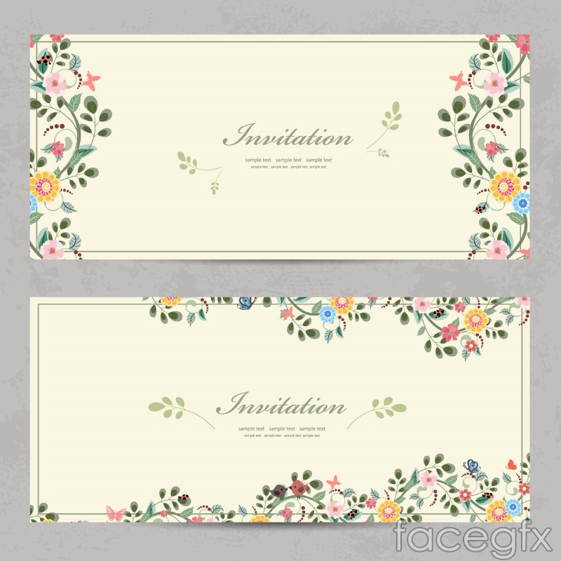 , invitation card vector, invitation card vector free, invitation card vector template, invitation samples