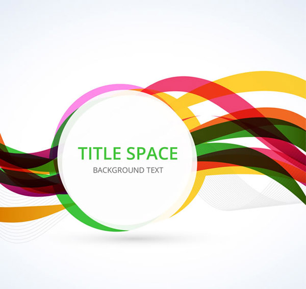 ARC round label backgrounds vector