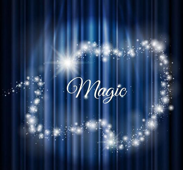 Dream magic background vector