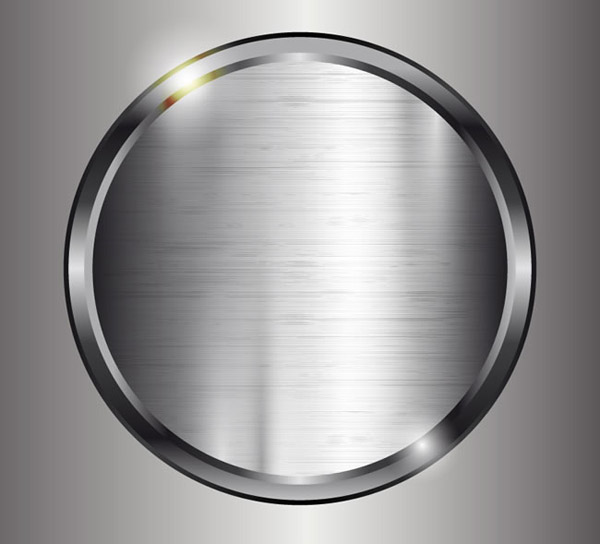 Silver metal background vector