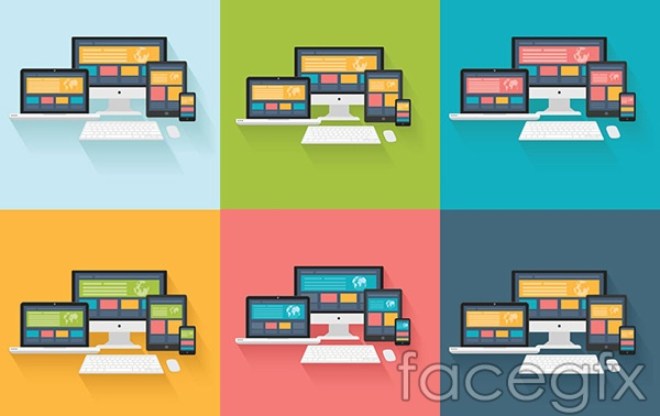 Terminal display picture vector