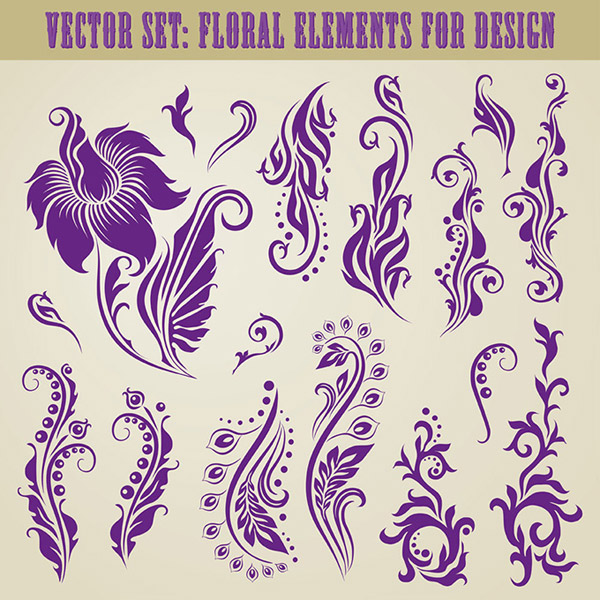Classical pattern illustration vector