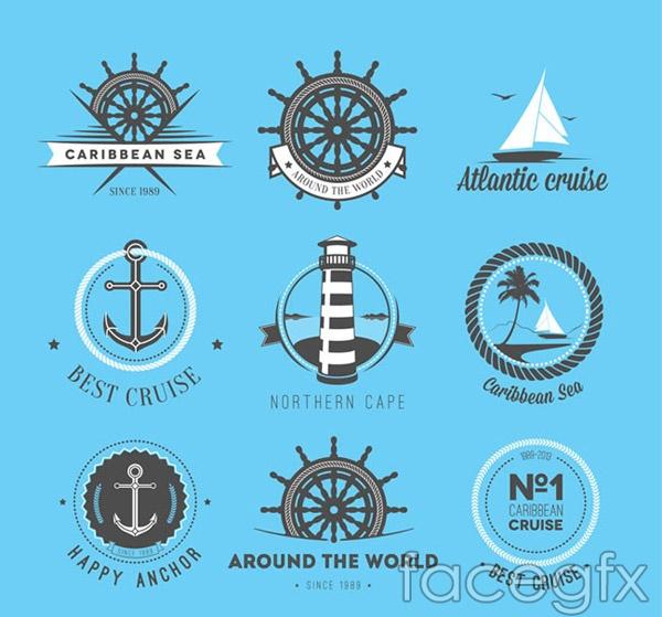 Nautical flag vector