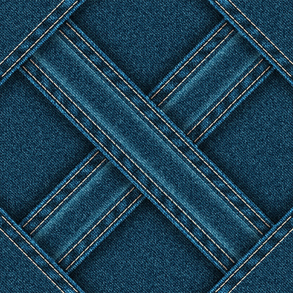 Background blue jeans vector