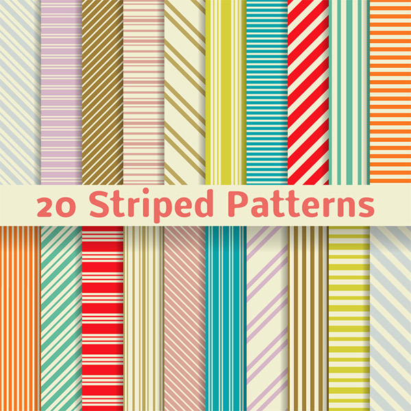 Stripe color background vector