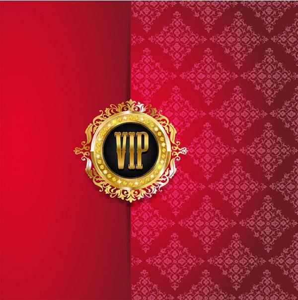 VIP pattern shading vector