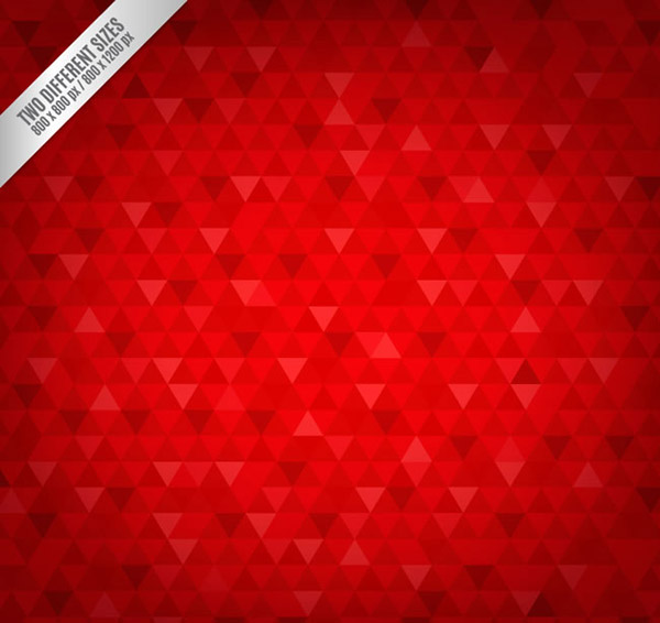 Triangle seamless background vector