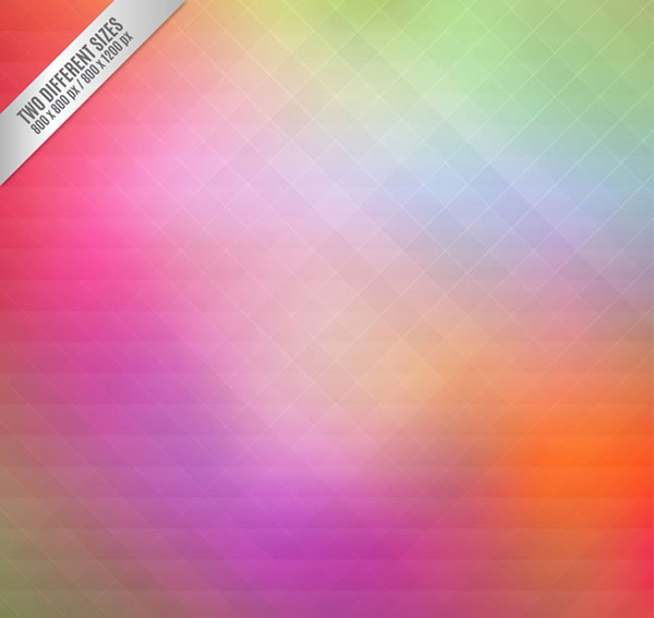 Color Diamond backgrounds vector