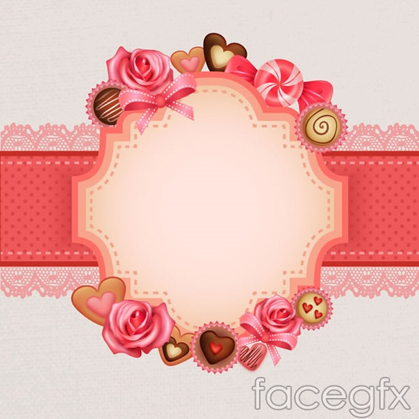 Blank label backgrounds vector
