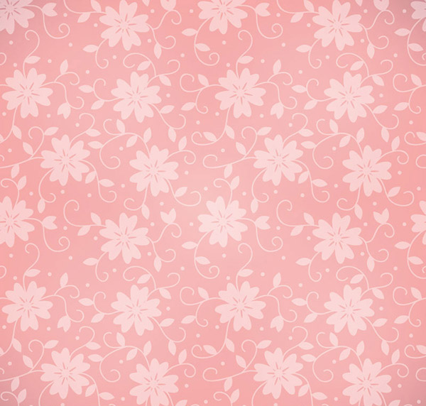 Pink seamless pattern background vector