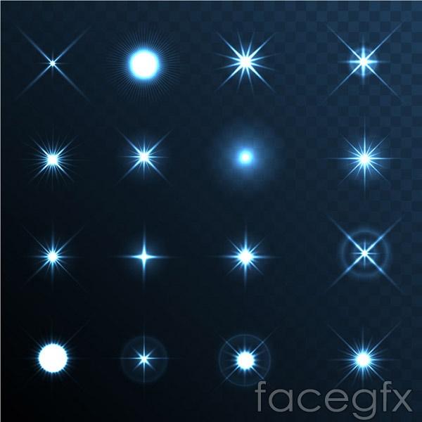 The bright stars vector