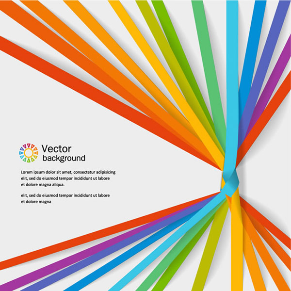 Twist knot paper backgrounds vector