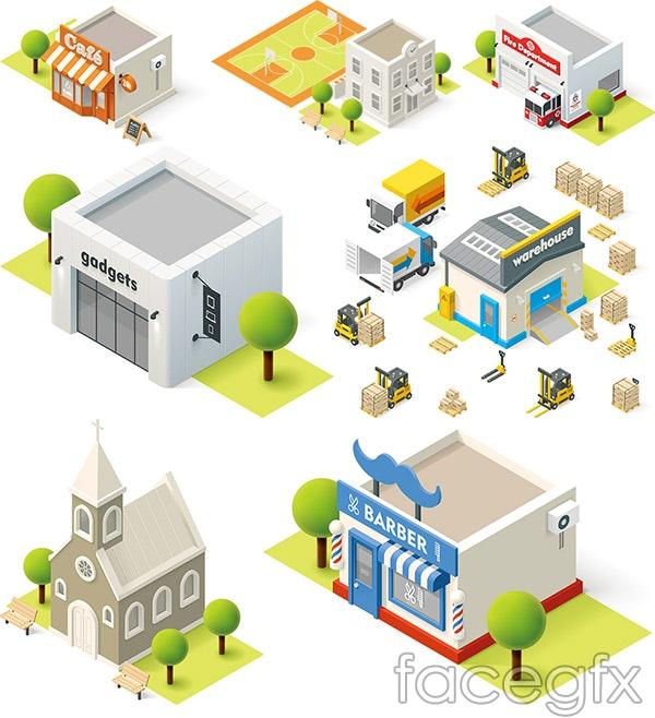 Cartoon models vector