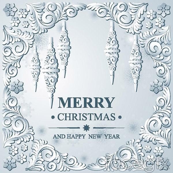 2016 Christmas cards vector