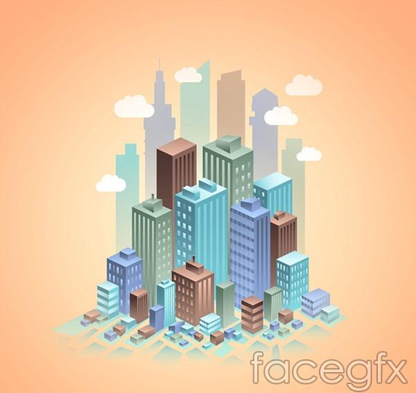 3D urban complex vector