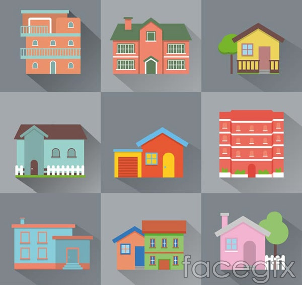 Creative home design vector