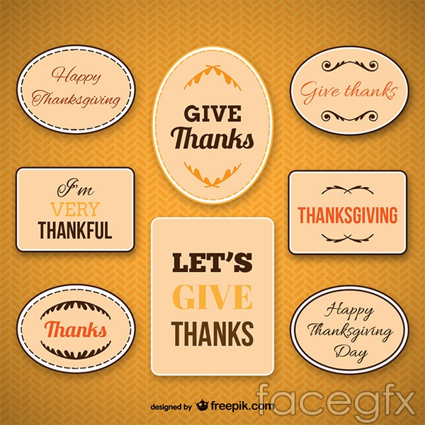 Thanksgiving activity card vector