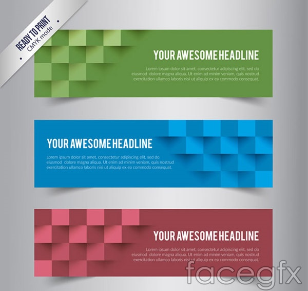 Braiding banner vector