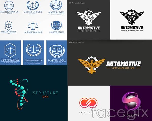 LOGO logo idea 5 vector