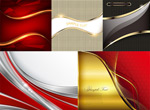 Metal line background vector