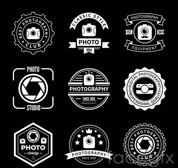 Photography Club logo vector