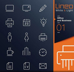 ICO icons vector