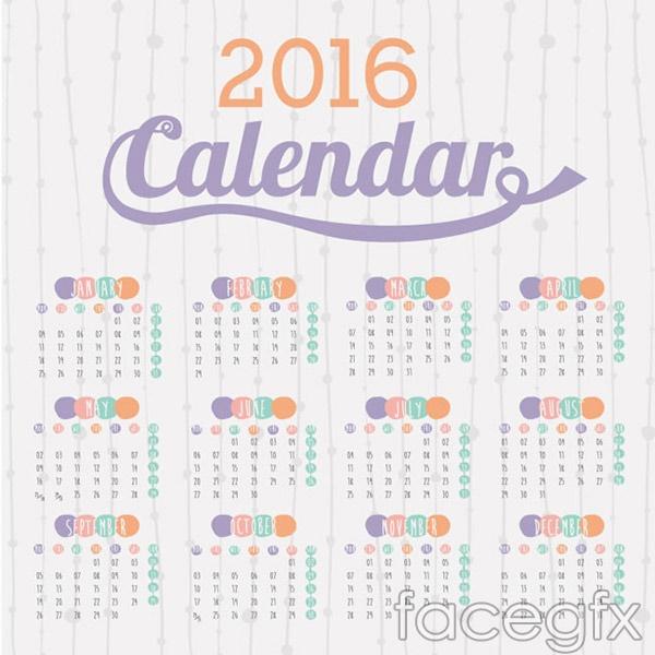 Elegant monkey calendar vector