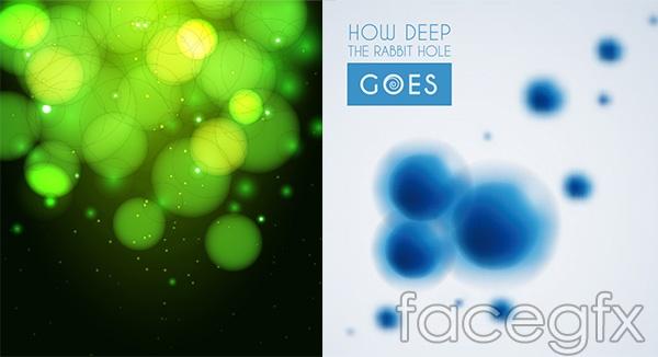 Spot light effect background vector