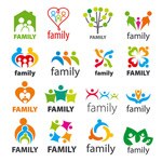 Colorful characters sign vector