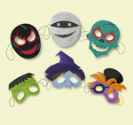 Halloween mask vector