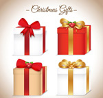 Gift bag Christmas vectors